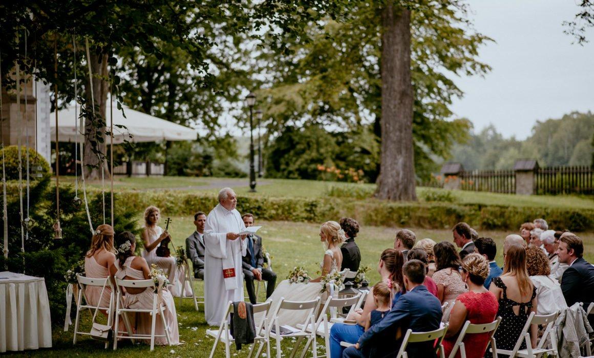ślub plenerowy promnice